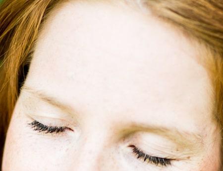 Haut du visage